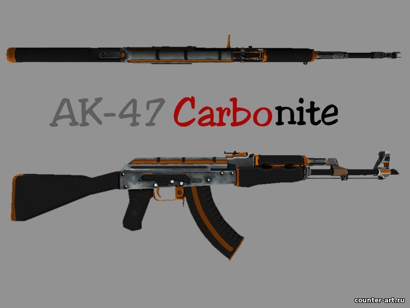 Ak-47 Carbonite