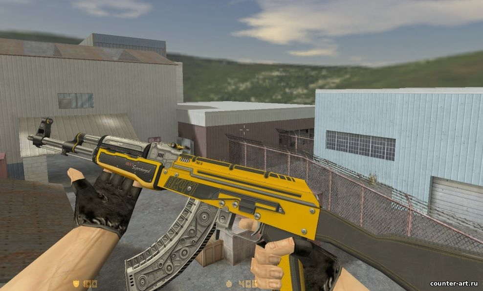 AK-47 - Fuel Injector для cs 1.6