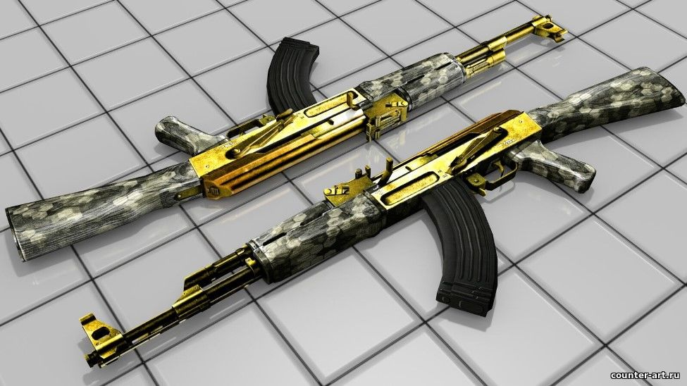 New Golden AK-47