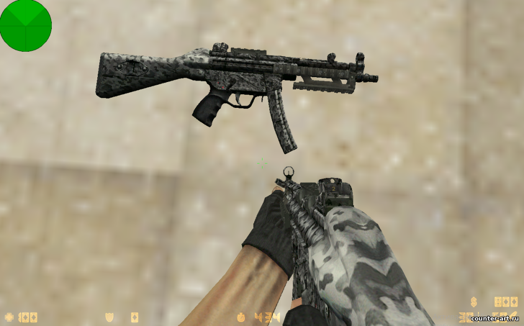 MW3 Navy MP5