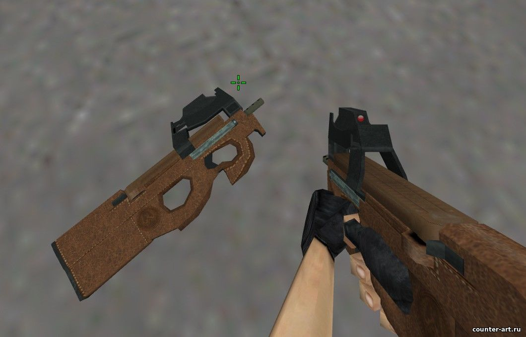 P90 Leather (Кожа) для CS 1.6