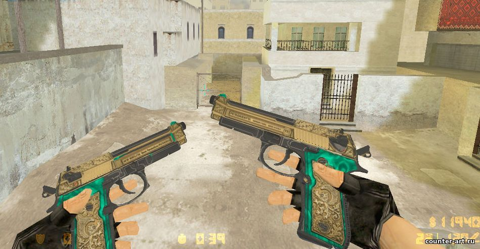 Dual Elites - Golden Venice для CS 1.6