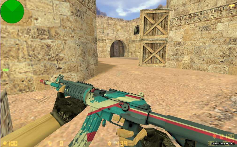 Модель Galil «Rocket Pop» для CS 1.6