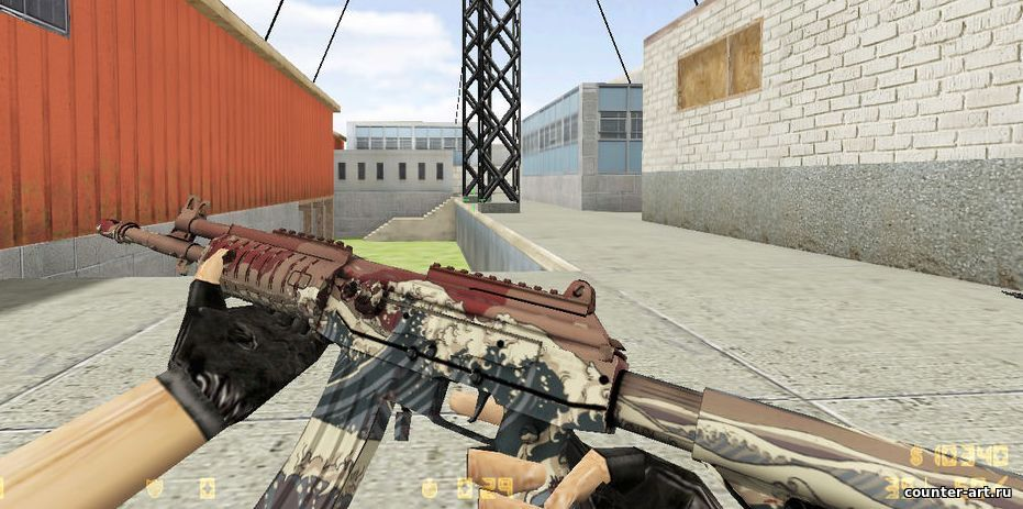 Galil [Crimson Tsunami] для CS 1.6