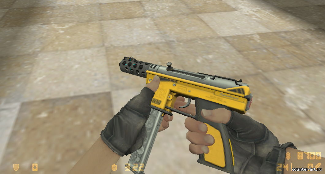 MAC-10 в виде Tec-9 - Fuel Injector для CS 1.6